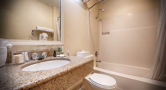 bathroom - Martinez CA Hotel